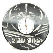 Scorpions Clock Decor Wall Art