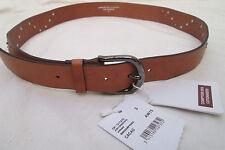 - AUTHENTIQUE  ceinture  COMPTOIR DES COTTONNIERS    cuir  neuve  vintage