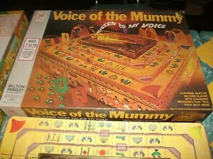 1971 VOICE OF THE MUMMY Milton Bradley Game complete excellent condition