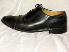 MEN'S GIEVES & HAWKES SAVILE ROW LONDON BROGUE LEATHER DESIGNER SHOES UK 8.5