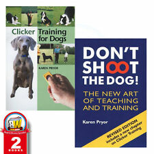 Don't Shoot the Dog!,Clicker Training for Dogs 2 Books Set In AU