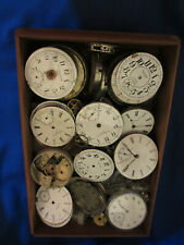 Watchmaker Estate Vintage American Pocket Watch Parts Pieces Movements and More!