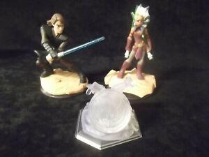 Disney Infinity 3.0 - Ashoka Tano, Anakin Skywalker & Crystal -  (Star Wars Lot)