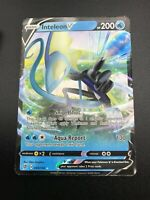Inteleon V ULTRA RARE 049/192 Pokemon SWSH Rebel Clash Holo NM 2020