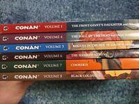 Conan Graphic novel collection