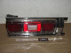 75 Ford Gran Torino ELITE LEFT DRIVER SIDE BACKUP REVERSE TAIL LIGHT LENS BEZEL