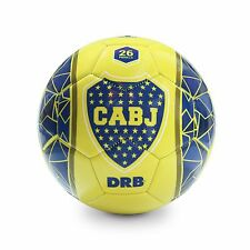 BOCA JUNIORS Soccer Ball Official Licensed Product - Size 5 - Yellow Edition