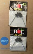 2Of The Dot Stand Ice Fishing Rod Holder Drs (Since 1937) Nip