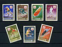 12th WINTER OLYMPIC WINNERS  INNSBRUCK {AUSTRIA}-  >{7}  MONGOLIA  1976