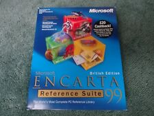 Microsoft Encarta Reference Suite 99 British Edition PC Reference Library