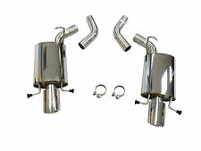 Maximizer Axle Back Exhaust For 2009 To 2014 Cadillac CTS-V , 6.2L, V8, AT / MT,
