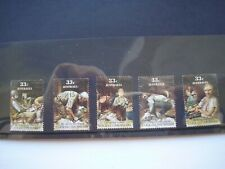 Click go the shears Australian stamps