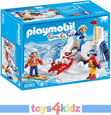 PLAYMOBIL® Family Fun 9280 - 9288 Wintersport  zum Auswählen  ** NEU / OVP