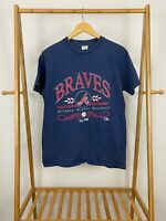 VTG Delta 1992 Atlanta Braves Big Graphic Single Stitch T-Shirt Size L USA