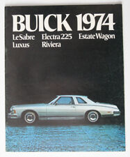BUICK LeSABRE ELECTRA 1974 dealer brochure - French - Canada - ST1002000218