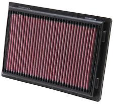 K & n Hoher Durchfluss Luftfilter x2 für Lexus ls600h 5.0 v8 08-14 33-2381