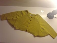 BNWT 100% Auth Mexx, Baby Girl Yellow Poncho Cape Jacket / Jumper. 2-4 Yrs