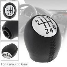 6Speed Car Manual Gear Shift Handball Knob for Renault Megane Clio Laguna Scenic