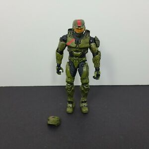 Halo 3 Wars Red Team Mark IV Spartan Jerome Soldier Action Figure Mcfarlane Toys