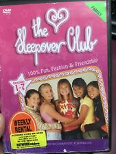 Sleepover Club Volume 1 (Eps 1-7) ex-rental region 4 DVD (Australian kids series