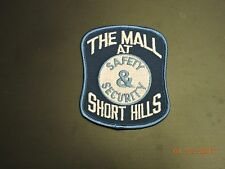 NJ New Jersey The Mall at Short Hills Safety & Security Patch #2