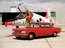 1960 Chevrolet Corvair Sedan, Refrigerator Magnet, 40 MIL