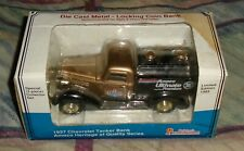 Liberty Classics Die Cast 1937 Chevy Tanker Bank Amoco Gold MIB