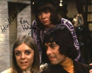 Television Autograph: PETRA MARKHAM & ROY HOLDER (Ace of Wands) Signed Photo