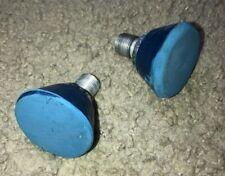2 Chicago Roller Skate Toe Stoppers Stops Unused Blue