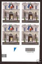 Italia Repubblica 2013 - Questure d'Italia - quartina con codice a barre