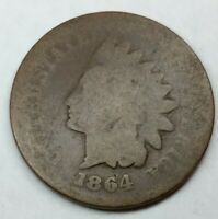 1864 Indian Head Cent 1c  penny