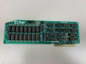 Titan Saturn Ram Card - 128K - WORKING