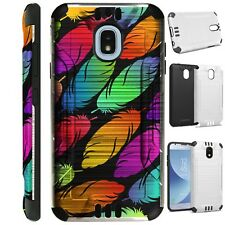 SILVER GUARD For Samsung Galaxy J3 2018 Hybrid Phone Case Cover G7