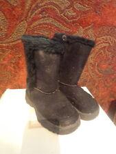 Arizona Toddler Girls Black Winter Boots - Size 8M