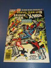Marvel Team Up Annual #1 Bronze age Spider-man X-men Fine Wow