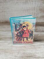 Adorable Vintage Miniature Kris Kringle Christmas Readable Book