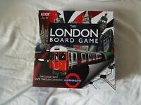 The London Board Game 2-6 Players Age 7+ Opened but not used cards still sealed