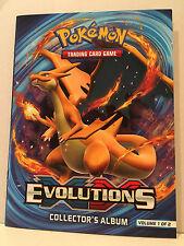 POKEMON EVOLUTIONS COLLECTOR'S ALBUM VOLUME 1 OF 2 - NEW