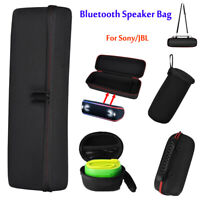 Bluetooth Speaker Nylon Protective Storage Bag Shell Carrying Case Box for Sony