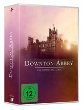 DOWNTON ABBEY 1-6  DIE KOMPLETTE SERIE 1 2 3 4 5 6 DVD BOX DEUTSCH
