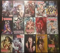 Vampirella Vengeance of Vampirella Red Sonja Kiss Zombies + More 15 Comic Lot