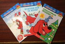 BRAND NEW - CLIFFORD THE BIG RED DOG (3 BOOK SET) BOOK - SCHOLASTIC