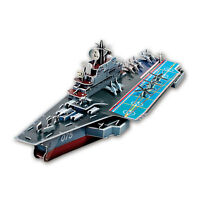 Soviet Aircraft Carrier Kiev 103 Piece Military 3D Model DIY Hobby Build Kit