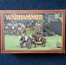1997 caos WARRIOR CARRO GAMES WORKSHOP WARHAMMER ESERCITO EVIL FIGHTER CAVALIERE MIB