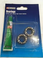 """Weldtite 1/4"""" Rear Hub Caged Bearings Tf2 Lithium Grease - Cycling Bike Cycle"""