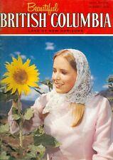 1974 Beautiful British Columbia Magazine Summer: Doukhobors/Stewart-Cassiar