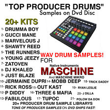 TOP 21 SAMPLE kits for MASCHINE black white Native instruments mikro drums wav
