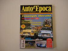 AUTO D'EPOCA 7-8/2003 TRIUMPH HERALD/KAWASAKI 500 MACH III/MILLE MIGLIA/DAREN