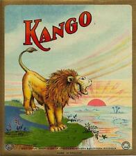 ORIGINAL FABRIC BALE LABEL - KANGO - LION