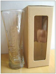 Carlsberg Classic Glass with box Special Issue classic Design NEW